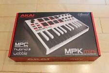 Akai Professional Mpk Mini Mk2 White Midi Keyboard Controller Japan LTD F/S