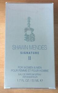 Shawn Mendes Signature II Eau De Parfum Spray 50ml (Unisex) - NEW & Sealed