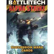 Catalyst - Battletech - Alpha Strike - Succession Wars Cards -=NEW=-