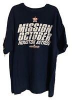 Vintage Houston Astros 2017 Mission October Shirt Adult Size XL