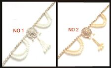 New Indian Bollywood Saree Belt Jewellery Belly Dancing Party Pearl Stone
