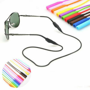 Silicone Sunglasses Glasses Spectacles Neck Cord Strap Lanyard Holder Adjustable