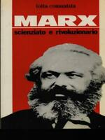 Marx Scientist And Revolutionary Aa.vv. Grappling Communist 1983