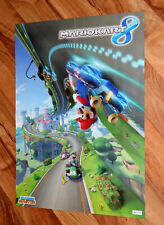 2014 Mario Kart 8 / Skylanders Swap Force Rare Poster Wii U PS3 Xbox 360 55x42cm