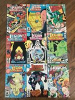 Lot 9 DC Comics Books Legion of Superheroes 80s Issues 1980s Bronze Copper Age
