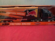 "New-Ray  Peterbilt 387  tractor w/  trailer  ""Red Bull""  1/32 scale NIB"
