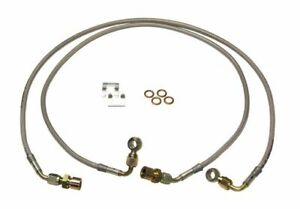 """Skyjacker For 08-16 Ford F-250/F-350SD Gas Front SS Brake Line 4""""Lift Pair FBL84"""