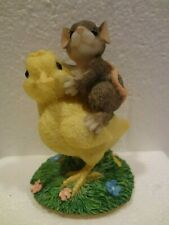 Charming Tails - Chicken-Back Ride In Original Box