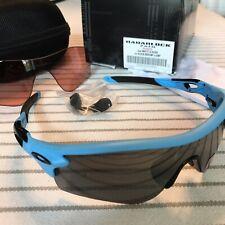 Oakley Radarlock Path, Matte Glacier + 2 lenses + nose piece!