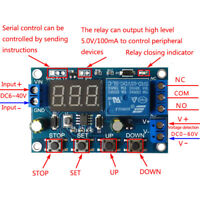 LED Battery Charger Discharger Board Under Over Voltage Protection Module 6-40V
