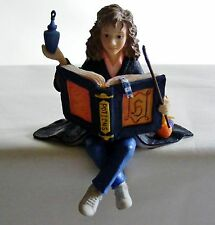 Extremely Rare! Harry Potter Shelf Sitter Hermione Granger with Spell Book &Wand