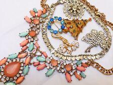 Vintage Mixed Lot Rhinestone Jewelry, 7 pieces