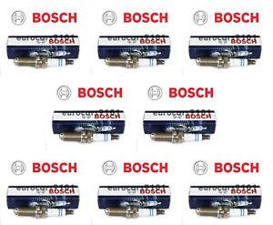 Volvo S40 Bosch Spark Plugs 0242240635 30650843 Set of 8