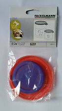 CAN COVERS FOR CANS FITS STANDARD 7.5CM & LARGE 10CM TIN PLASTIC LID CAT DOG PET