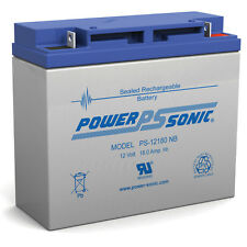 Power-Sonic Replacement 12V 18AH for LC-RD1217P LC-XD1217PG Panasonic Battery 12