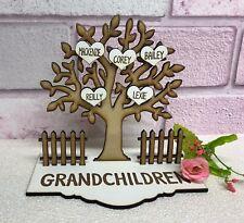Grandparents Grandchildren Grandkids Family Tree Nan Grandad Christmas Gift