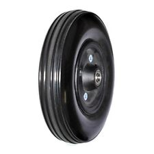 "8""x2"" (200x50) Solid Front Wheel Assembly for Drive Hawk (S375) Mobility Scooter"