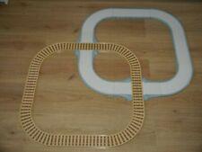 Road & Train Track Set Fireman Sam_Postman Pat_Bob Builder_Peppa Pig_18 Pieces !