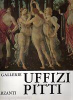 Firenze - LE GALLERIE UFFIZI E PITTI - ROSSI FILIPPO - GARZANTI 1969
