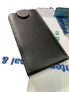 HTC One M9 M8 M7 Mobile Phone Genuine Leather Flip Case Protective Cover