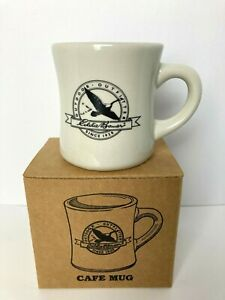 Eddie Bauer Diner Style Coffee Mug Outdoor Outfitter Canadian Geese New