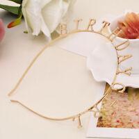 Tiara Korean Fashion Baby Girls Headband Headwear Ornament BIRTHDAY Hairband