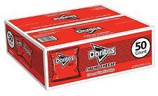 Doritos Nacho Cheese Flavored Tortilla Chips 1 oz. bags 50 ct. Brand New Item