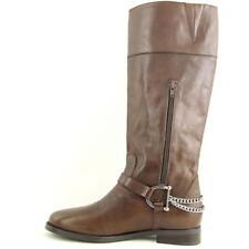 Botas de mujer Ralph Lauren de tacón bajo (menos de 2,5 cm) de color principal marrón