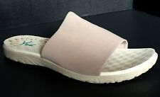 YUU Casie Womens Slide Sandal 11M Slip On Tan Beige Non Slip