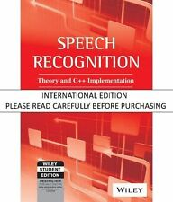 Speech Recognition: Theory and C++ Implementation (With CD-ROM) by Claudio Becch