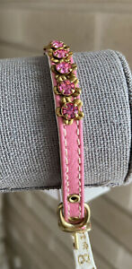 Mirage Pet Products Jewel Cat safety collar Pink Size 8 Cat Tiny Dog