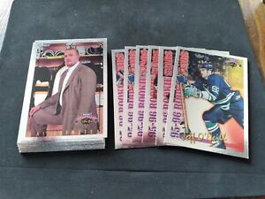 1996-97 TOPPS PICKS OPC INSERTS FOIL / FISNISH/COMPLETE YOUR SET !! YOU CHOOSE!!