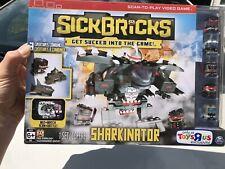 Sick Bricks Sharkinator Exclusive Playset ToysRus Exclusive Sealed New Retired