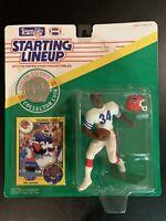 1991 Kenner Starting Lineup THURMAN THOMAS Buffalo Bills Coin/Card NIB