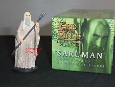 BRITAINS 40454 LORD OF THE RINGS FILM MOVIE SARUMAN METAL CHARACTER FIGURE