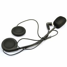 Helmet Bluetooth Intercom T-COM FDC Headset Headphone Microphone Mic w/ Ear-Pad