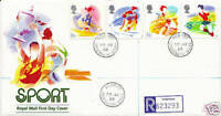 22 MARCH 1988 SPORT ROYAL MAIL FIRST DAY COVER APPROPRIATE AVIEMORE CDS