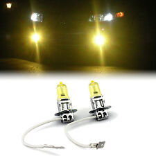 YELLOW XENON H3 HEADLIGHT LOW BEAM BULBS TO FIT Toyota Tercel MODELS