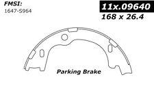 Centric Parts 111.09640 Rear Parking Brake Shoes