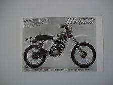 advertising Pubblicità 1977 MOTO MALAGUTI CAVALCONE HF 50