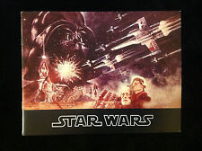 STAR WARS-CARRIE FISHER- MOVIE PROGRAM-NEAR MINT-FIRST PRINTING-RARE-1977