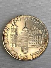 500 Schilling Münze 1984-Stift Stams Tirol-700 Jahre