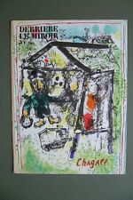 MARC CHAGALL ORIGINAL LITHOGRAPH IN COLOR FROM 1969 (SF16:39, 18)