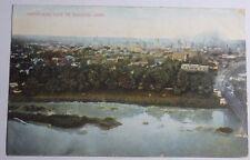 1907 POSTCARD OF BIRDS EYE VIEW OF DAYTON OHIO TO SCIO OHIO