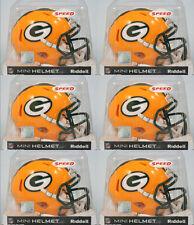 GREEN BAY PACKERS - Riddell Speed Mini Helmet (6 PACK LOT)
