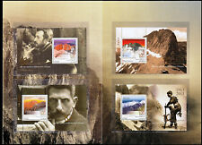 Greece 2013 100 Years from Mt. Olympus First Ascent Miniature Sheets MNH