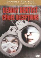 Deadly Dentist + Cruel Deceptions DVD Serial Killer Documentary - VERY RARE