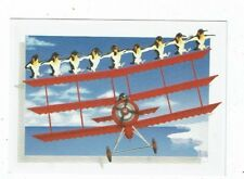 POST CARD TITLED FLYING UP TO RIO BY GILLIAN MOLL