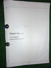 SEAT INCA 1.6L (1595cc 1F TYPE CODE) PETROL ENGINE OEM WORKSHOP MANUAL 1995>