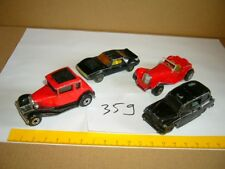 Konvolut Nr. 359 MATCHBOX-LESNEY AMX Javelin, SS Jaguar, Ford, FX4R